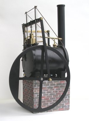 Trevithick Dredging Engine - Model Steam Engine